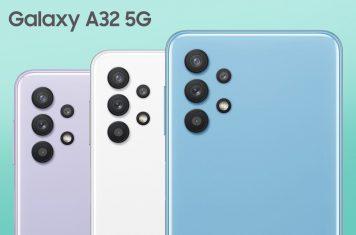 Galaxy A32 budget smartphone