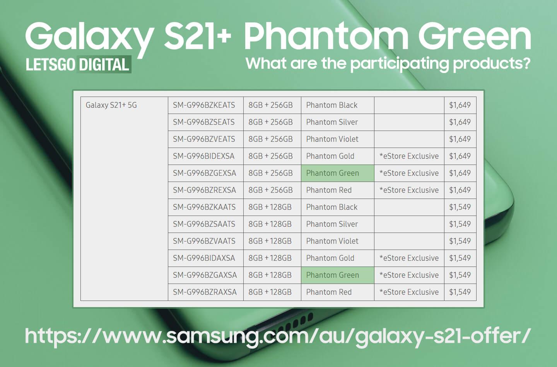 Galaxy S21 Plus Phantom Green