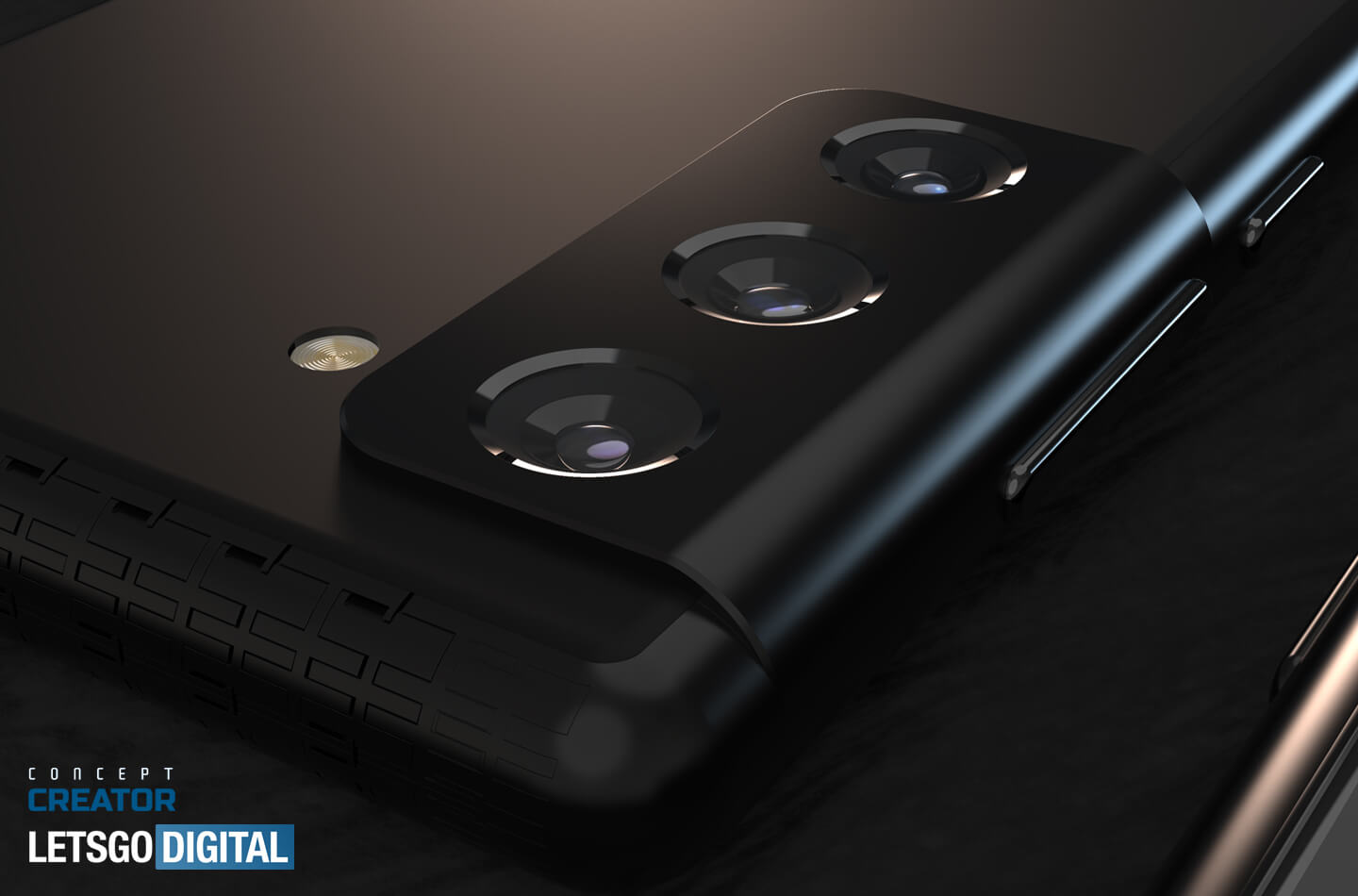 Galaxy S21 smartphone camera design