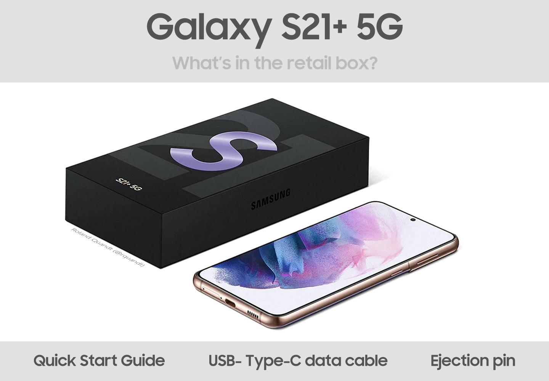 Galaxy S21 verkoopverpakking
