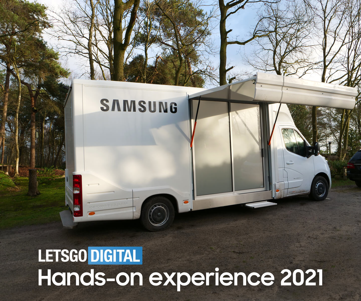 Hands-on experience Samsung Netherlands