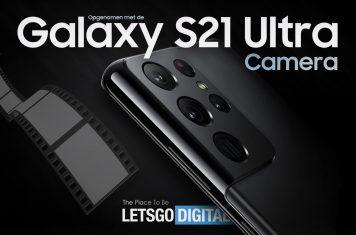 Samsung Galaxy S21 professionele video camera