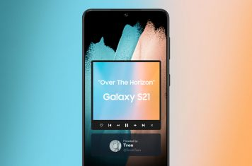Samsung Galaxy S21 ringtone Over The Horizon 2021