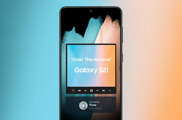 Samsung Galaxy S21 ringtone Over The Horizon 2021