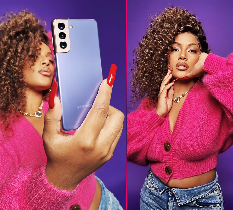 Samsung Galaxy S21 Ultra 8K video snap