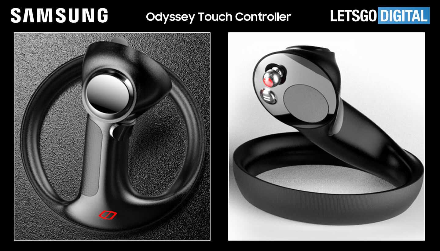 Samsung Odyssey touch controller