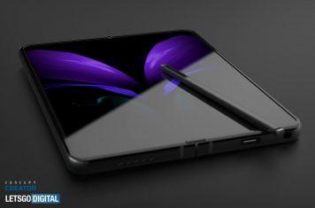 Samsung opvouwbare smartphone Galaxy Z Fold 3 5G