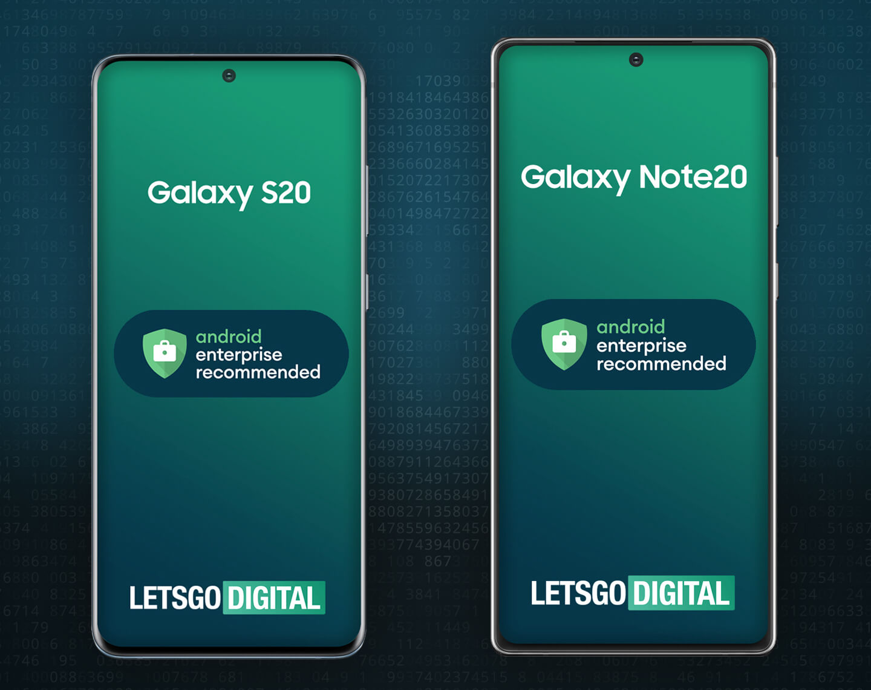 Samsung smartphones Google Android Enterprise