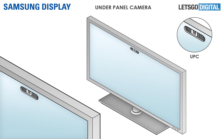 Samsung TV under display camera