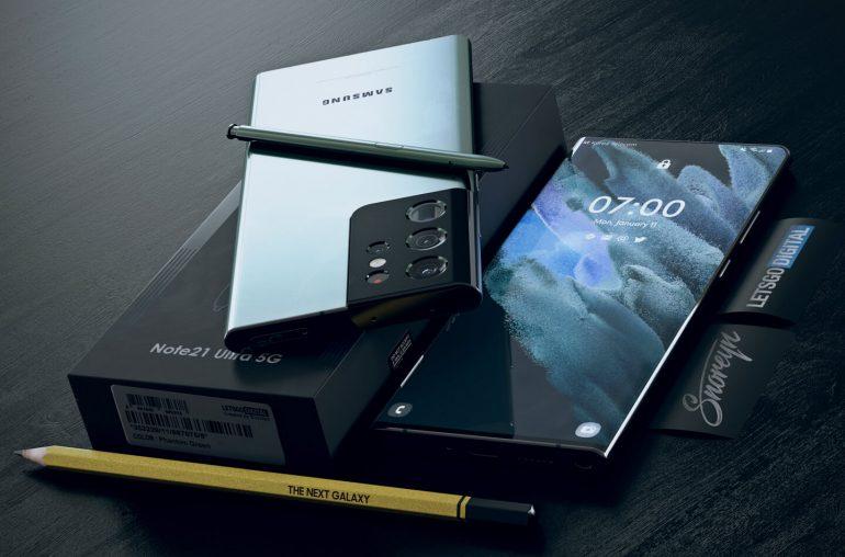 Samsung under-display camera Galaxy Note 21