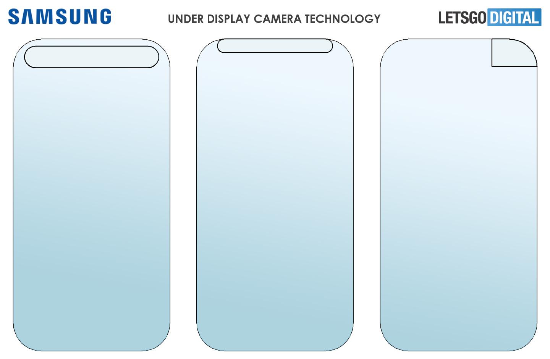 Samsung under-display camera