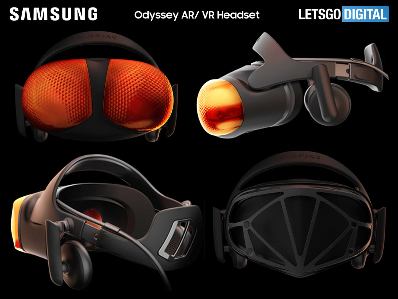 Samsung VR AR headset