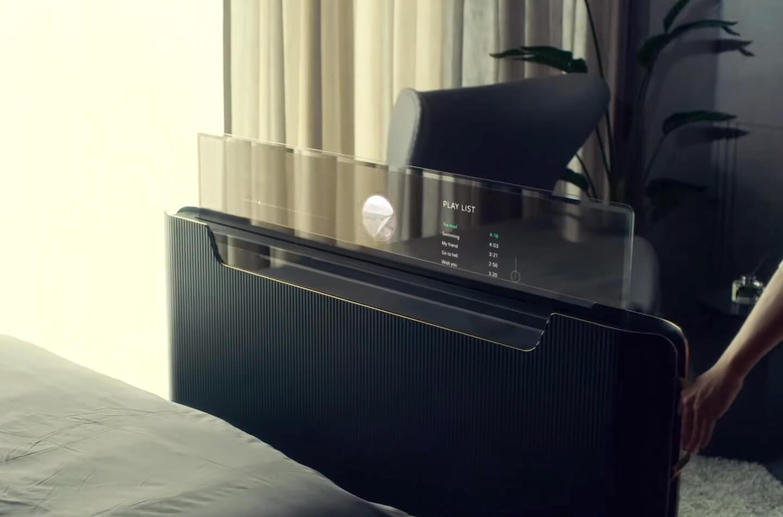 Transparante TV