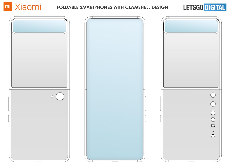 Xiaomi clamshell telefoon quad-camera
