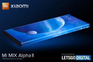 Xiaomi Mi Mix Alpha smartphones 2021 modellen
