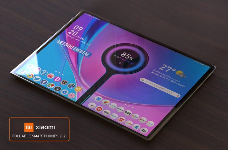 Xiaomi opvouwbare smartphones 2021