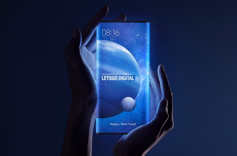 Xiaomi smartphone surround display 2021 concept design