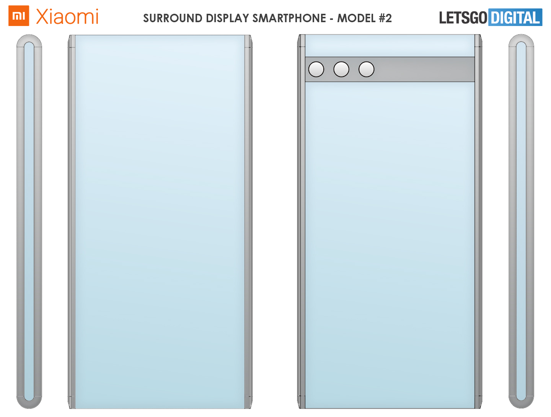 Xiaomi smartphone surround display