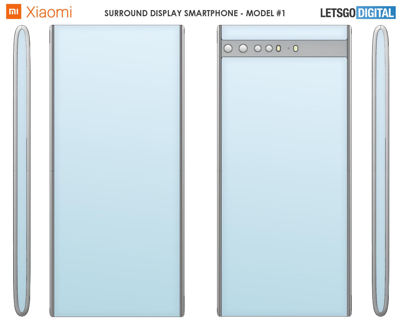 Xiaomi telefoon doorlopend display