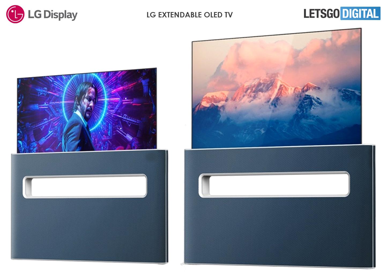 Schermo estensibile per TV LG