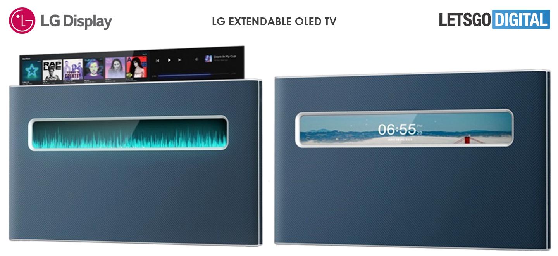 TV estraibile LG