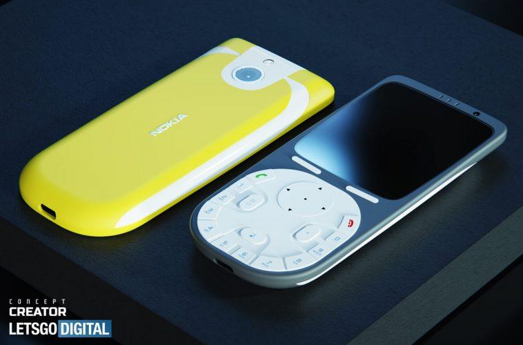 Nokia 3650 4G mobiele telefoon
