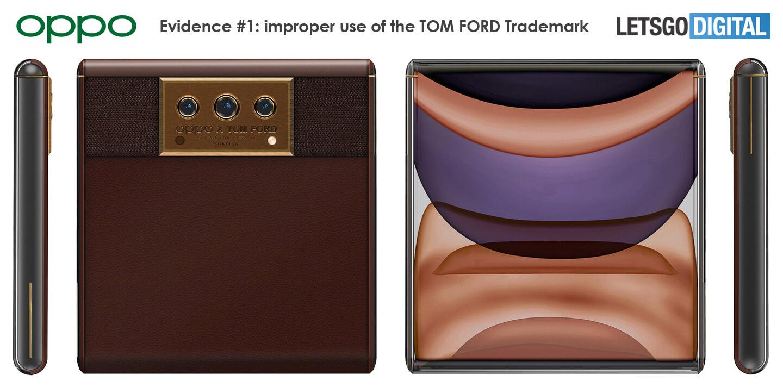 Oppo smartphone Tom Ford