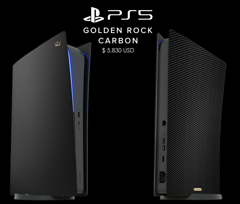 PlayStation 5 Carbon Black