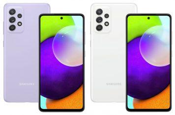 Samsung A52 telefoon