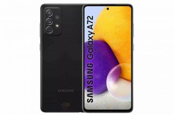 Samsung Galaxy A72 telefoon