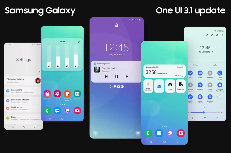Samsung One UI 3.1