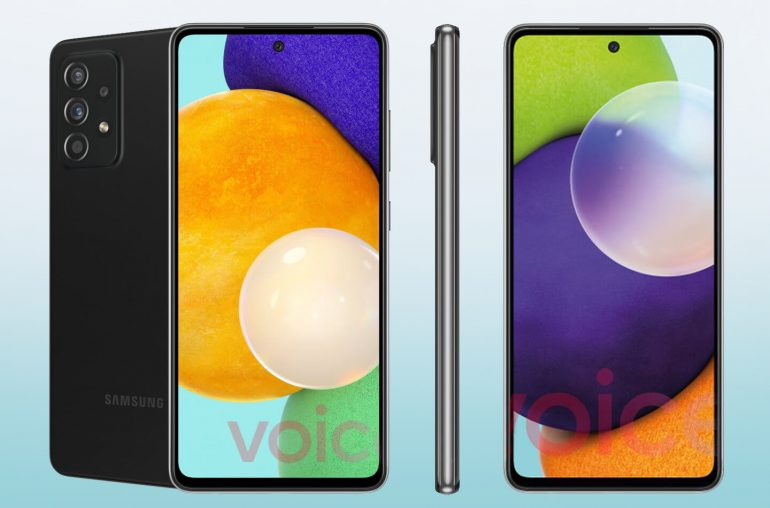 Samsung telefoons Galaxy A52 A72