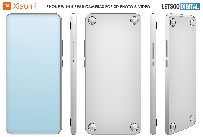 Smartphone 3D camera