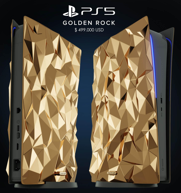 Sony PS5 Golden Rock