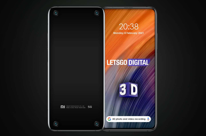 Xiaomi 3D smartphone
