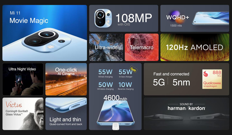 Xiaomi Mi 11 specificaties