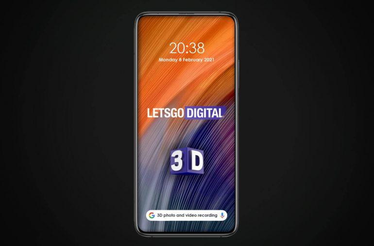 Xiaomi smartphone 3D camera