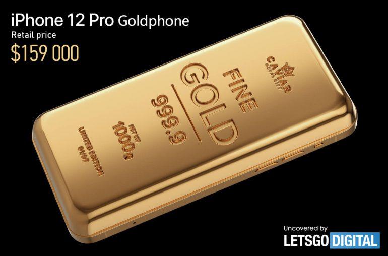iPhone 12 Pro Goldphone