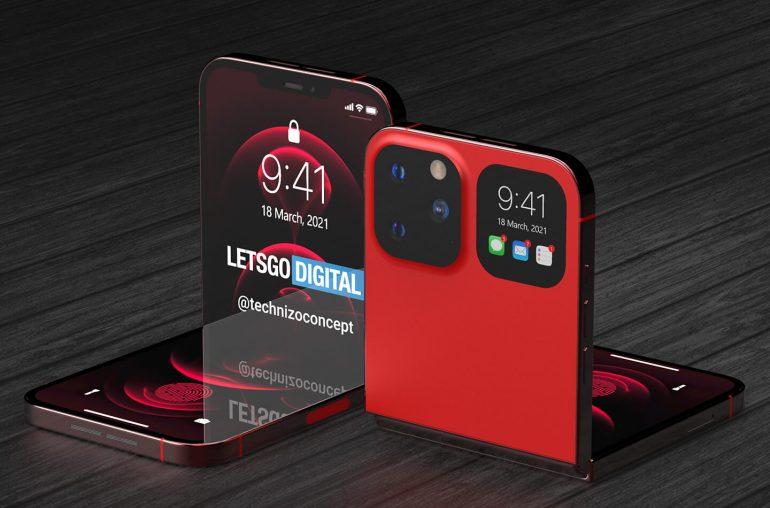 iPhone Flip opvouwbare smartphone