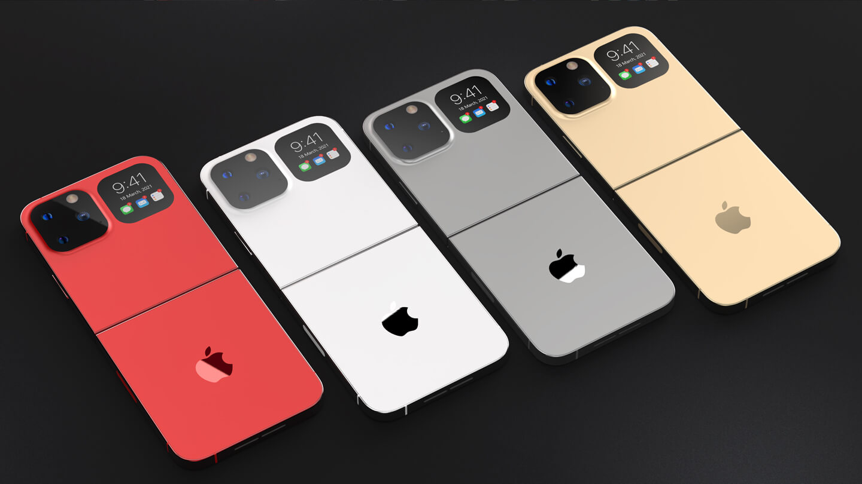 iPhone opvouwbare telefoon