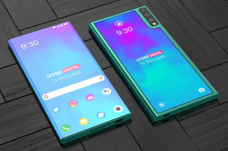LG Rollable oprolbare smartphone
