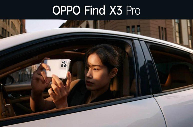 Oppo Find X3 Pro smartphone