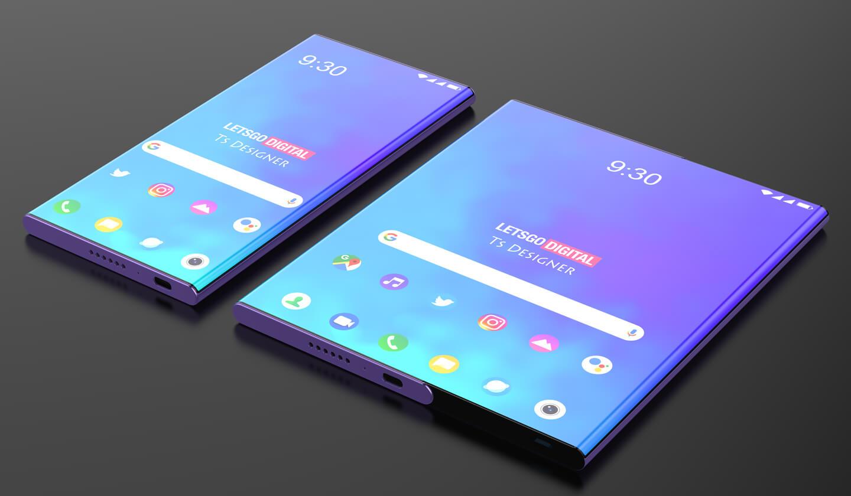 Oprolbare smartphones
