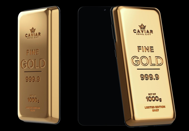 Samsung Galaxy S21 gouden limited edition
