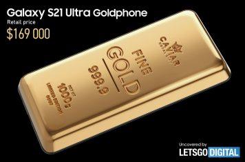 Samsung Galaxy S21 Ultra Goud