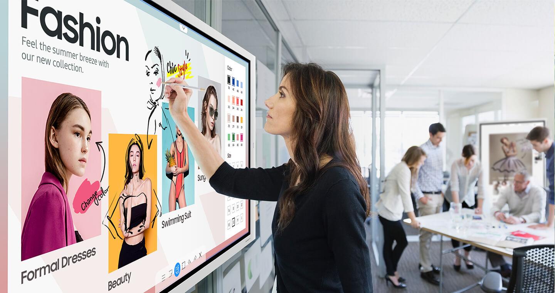 Samsung interactive Display Flip 75