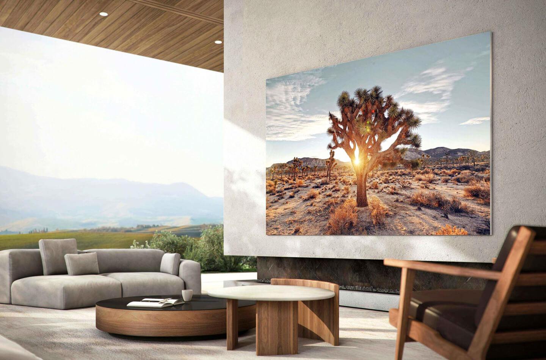 Samsung The Frame Lifestyle televisie