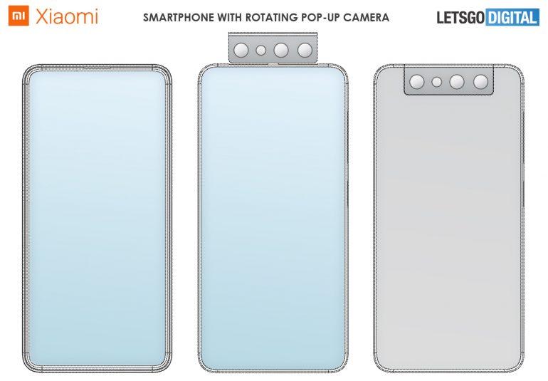 Concepto cámara selfie Xiaomi