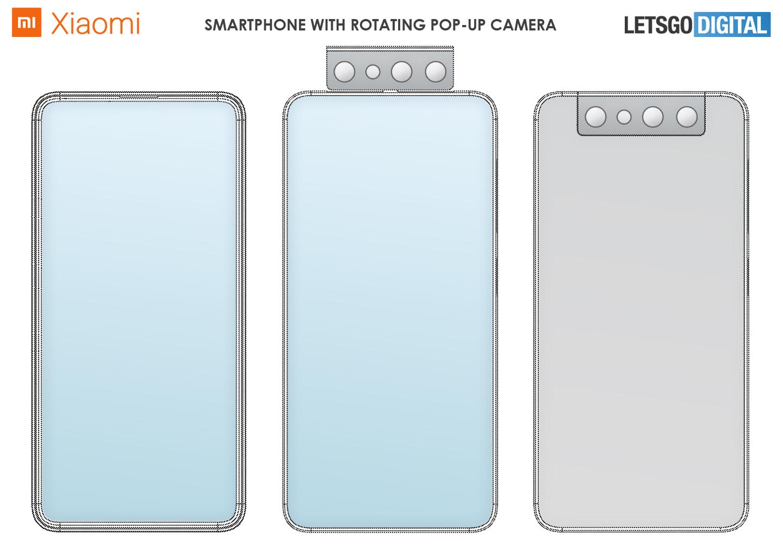 Cámara giratoria para teléfono inteligente Xiaomi