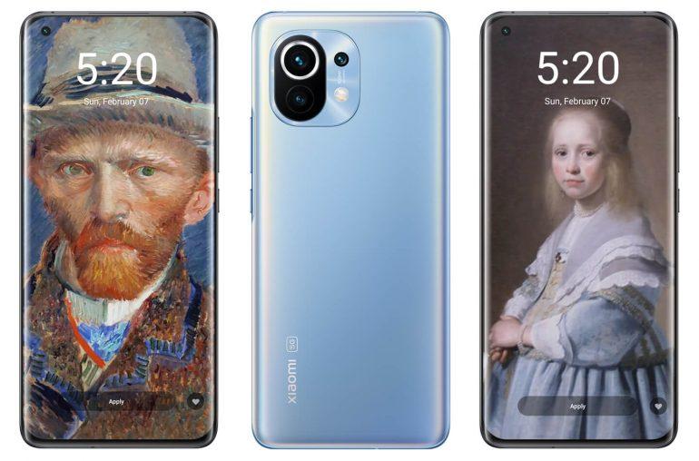 Xiaomi smartphone wallpapers